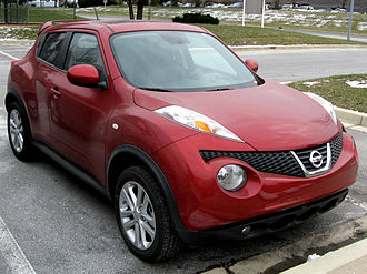 Mini sport utility vehicle - Nissan Juke, a modern mini SUV
