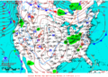 2012-02-08 Surface Weather Map NOAA.png