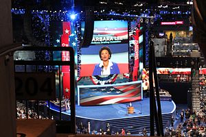 2012 Democratic National Convention - Barbara Lee speaks at the convention