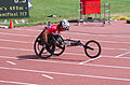 2013 IPC Athletics World Championships - 26072013 - Catherine Debrunner of Switzerland during the Women's 400M - T53 second semifinal 3.jpg