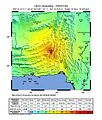 2013 Pakistan earthquake ShakeMap.jpg