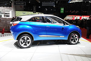 Tata Motors Cars - Tata Nexon at Geneva Motor show
