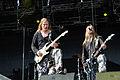 20140801-017-See-Rock Festival 2014-Sabaton-Pär Sundström and Thobbe Englund.JPG