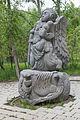 2014 Prowincja Wajoc Dzor, Dżermuk, Statua w parku (03).jpg