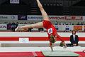 2015 European Artistic Gymnastics Championships - Vault - Ksenia Afanasyeva 04.jpg