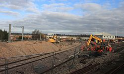 2015 at Reading West Curve - new Feeder Line.JPG
