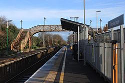 2015 at Templecombe station - looking eastwards.JPG