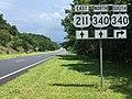 2016-07-19 14 13 28 View east along U.S. Route 211 (Lee Highway) just west of U.S. Route 340 in western Page County, Virginia.jpg