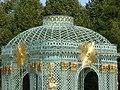 2016.Gitterpavillon verziert mit vergoldeten Sonnen und Instrumenten(1775)-Sanssouci-Steffen Heilfort.JPG
