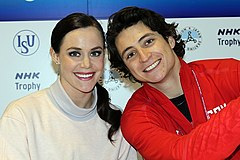 Tessa Virtue i Scott Moir (2016)