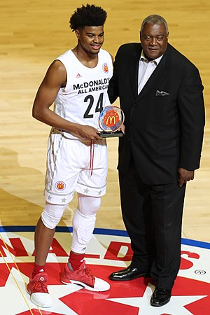 2017 McDonald's All-American Boys Game - M. J. Walker won the Jack Daly Award