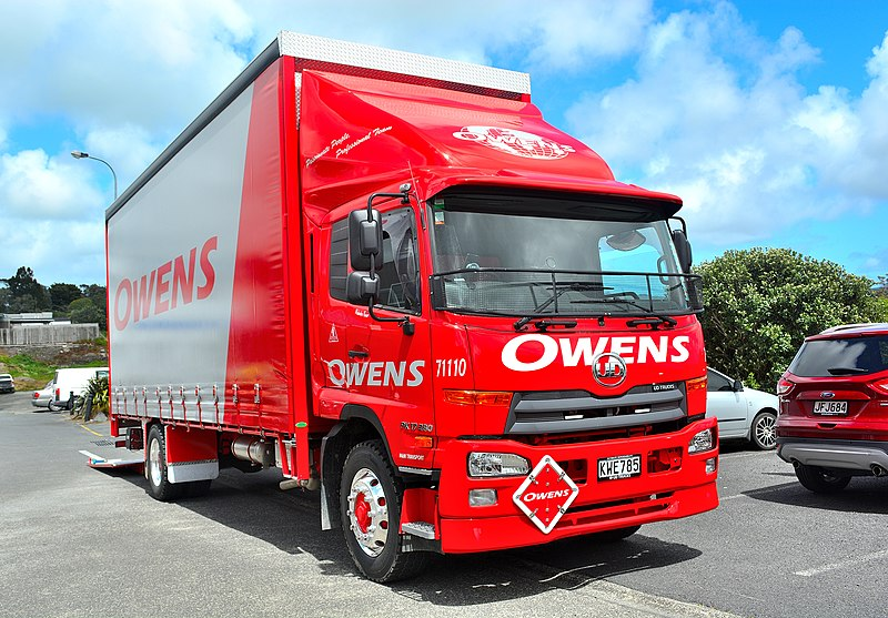 GPS 56 from New Zealand (2017 UD trucks PK17280) [CC BY 2.0], via Wikimedia Commons