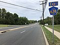 2018-09-17 15 58 30 View east along Ocean County Route 526 and Ocean County Route 638 (Jackson Mills Road) just east of Bellagio Road and Commodore Boulevard in Jackson Township, Ocean County, New Jersey.jpg