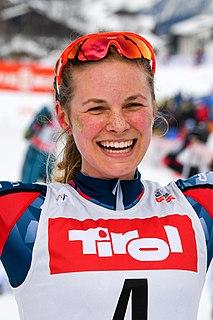 Jessie Diggins American cross-country skier