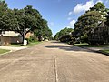 2019-07-20 09 20 36 View northwest along Misty Bend Drive at Mather Drive in the Pin Oak subdivision just south of the City of Katy in Fort Bend County, Texas.jpg