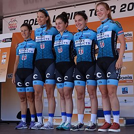 Hitec Products in de Boels Ladies Tour 2019