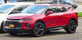 Chevrolet Blazer (crossover) Motor vehicle