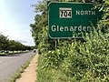 2020-08-26 15 49 57 View north along Maryland State Route 202 (Landover Road) at the exit for Maryland State Route 704 NORTH (Glenarden) in Landover, Prince George's County, Maryland.jpg