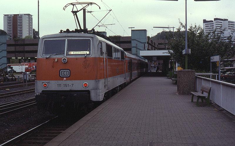 S11 Bergisch Gladbach Fahrplan