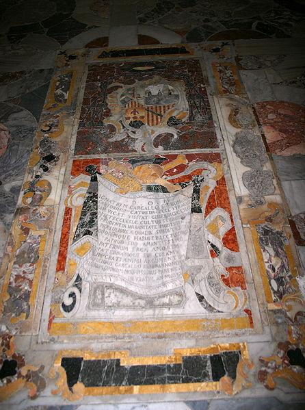 File:2805 - Siracusa - Duomo - Tomba Ignazio Gargallo (+1769) - Foto Giovanni Dall'Orto - 22-May-2008.jpg