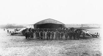 28th Bomb Squadron - 28th Aero Squadron, unit photograph, Foucaucourt Airdrome, France, 18 November 1918