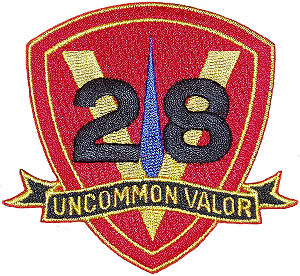 28th Marine Regiment (United States) - 28th Marines emblem