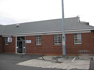 No. 29 Squadron RAAF - No. 29 Squadron's headquarters building at Anglesea Barracks, Hobart