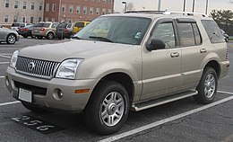 Un Mercury Mountaineer seconda serie