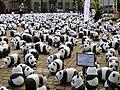 3. Aufnahme Universitätsplatz Heidelberg, es gibt nur noch 1600 Pandabären auf der Erde.JPG