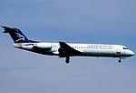 311al - Montenegro Airlines Fokker 100, YU-AOP@ZRH,08.08.2004 - Flickr - Aero Icarus.jpg