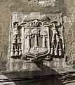 317 Palau Episcopal, façana pl. Lledoners (Girona), escut del bisbe Fageda.JPG