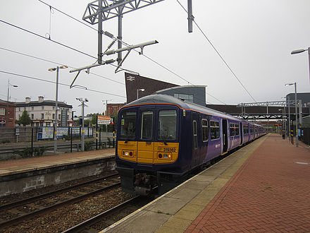 Northern Rail Class 319, 319362, Northern Powerhouse at St Helens Central