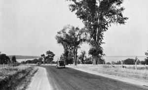 Ontario Highway 35 - Highway 35 overlooking Cameron Lake in 1941