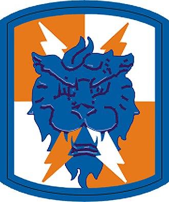 35th Signal Brigade (United States) - 35th Signal Brigade shoulder sleeve insignia.