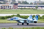 36100 Bangladesh Air Force MIG-29 Taxiing (8138191278).jpg