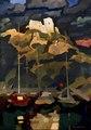 "3 ""Château Gaillard"", huile sur toile de Boris Khomenko, 2003, 142x100.tif"