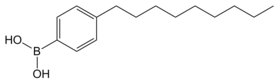 4-Nonylphenylboronicacid structure.png