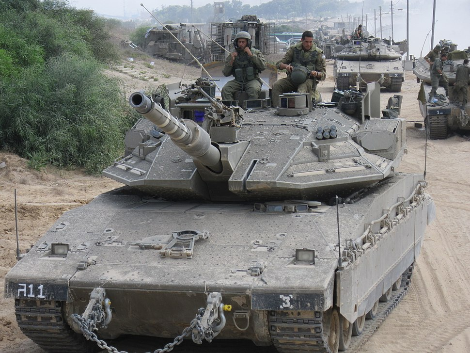 401st armoured brigade of the Armored Corps Operate Near the Gaza Border-20-july-2014-
