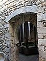 406 Banys Àrabs de Girona, atri, al fons l'apodyterium.JPG