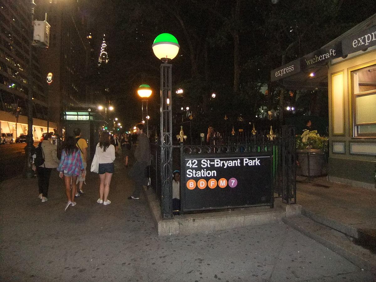 42nd Street–Bryant Park/Fifth Avenue (New York City Subway ...