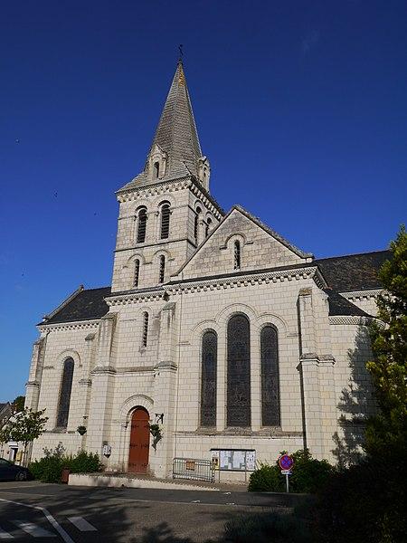 L'église Saint-Médard.