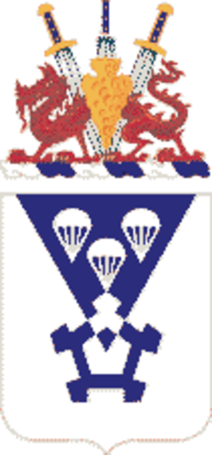 503rd Infantry Regiment (United States) - Coat of arms