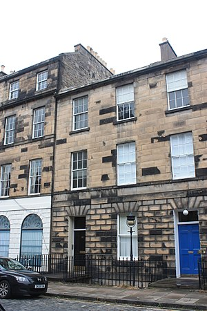 John Sturgeon Mackay - 69 Northumberland Street, Edinburgh (black door)