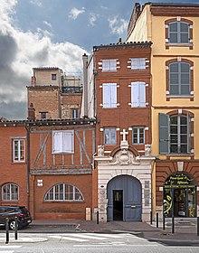 La casa di San Domenico a Tolosa.