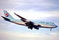 92bt - Korean Air Boeing 747-4B5; HL7489@ZRH;22.04.2000 (5574208026).jpg