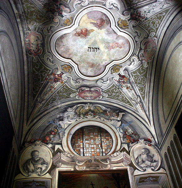 Fichier:9490 - Milano - S. Angelo - Tetragrammaton - Foto Giovanni Dall'Orto 22-Apr-2007.jpg