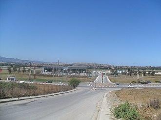 Jijel Ferhat Abbas Airport - Image: Aéroport Ferhat Abbas, Taher (Algérie)