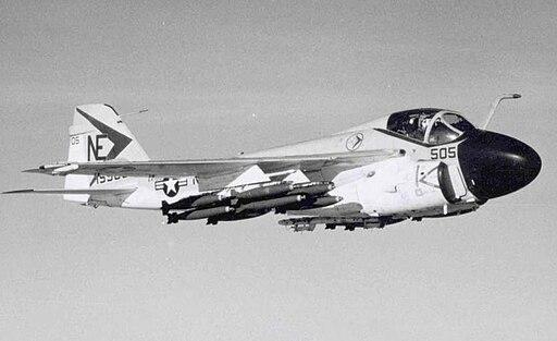 A-6A VA-165 CVA-61 1967