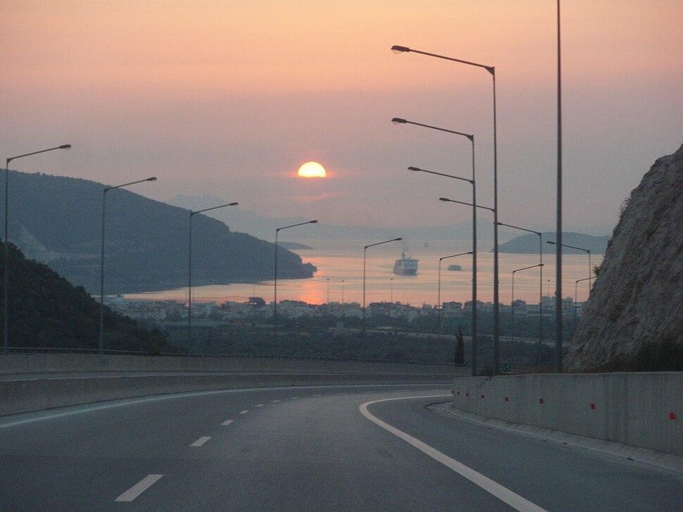 A2 Motorway, Greece - Section Paramythia-Igoumenitsa - 16