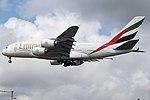 A6-EEJ Airbus A380 Emirates (14708389442).jpg